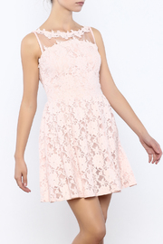 Nikibiki Lace Floral Dress - Product Mini Image