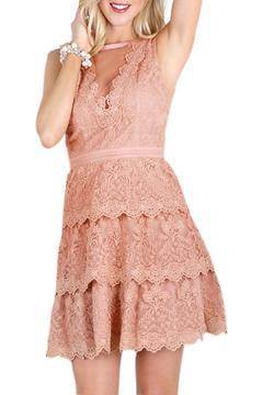 Shoptiques Product: Lace Tiered Dress