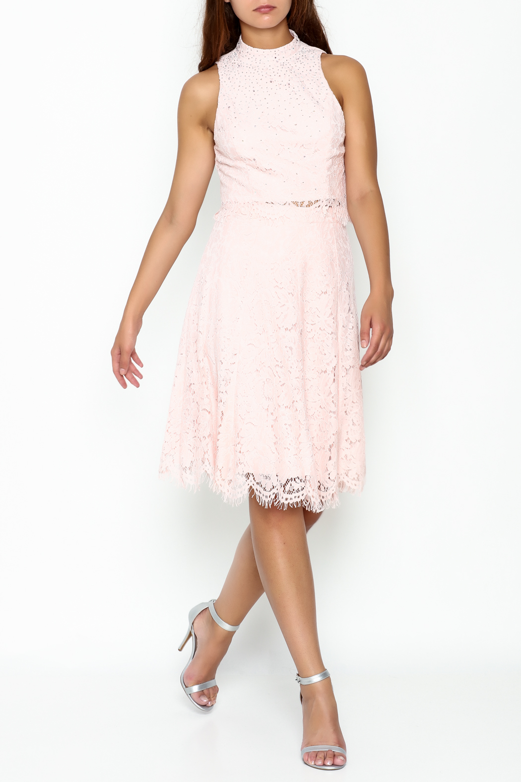 Nikibiki Lace Two Piece Dress - Main Image
