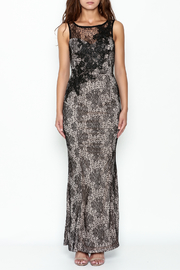 Nikibiki Long Lace Dress - Front full body