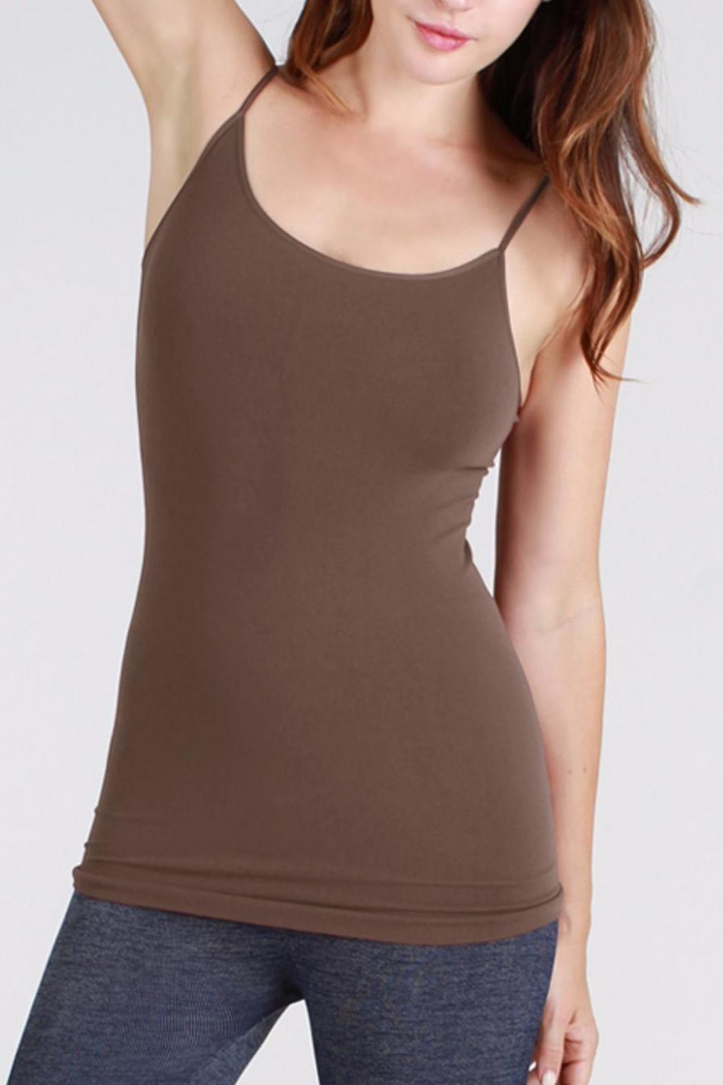 Nikibiki Long Seamless Camisole - Front Cropped Image