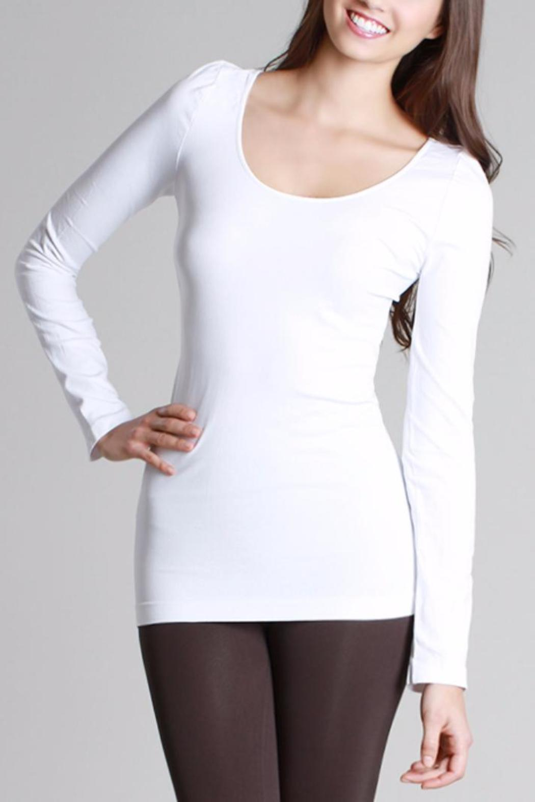 Nikibiki Long Sleeve Camisole - Main Image