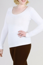 Nikibiki Long-Sleeve Camisole - Plus-Size - Product Mini Image