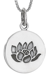 Tiger Mountain Lotus Necklace - Product Mini Image