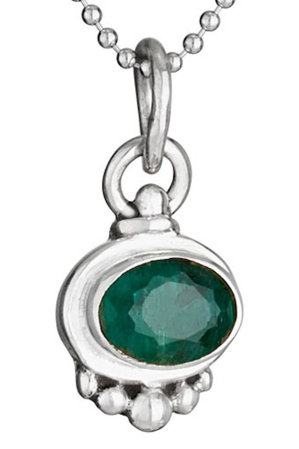 Tiger Mountain May Birthstone Necklace - Main Image