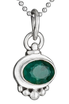 Tiger Mountain May Birthstone Necklace - Alternate List Image