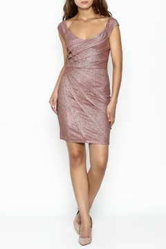 Nikibiki Metallic Bodycon Dress - Product List Image