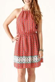 Nikibiki Print Halter Dress - Product Mini Image