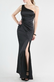 Nikibiki Satin Slit Gown - Product Mini Image