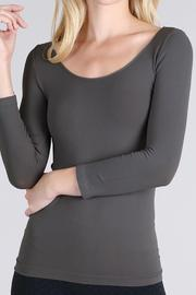 Nikibiki Seamless 3/4 Sleeve Top - Product Mini Image