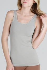 Nikibiki Seamless Grey Camisole Top - Front cropped