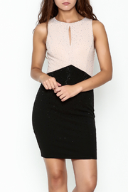 Nikibiki Studded Colorblock Dress - Front cropped