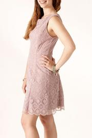 Nikibiki Tile-Lace Embroidered Dress - Side cropped
