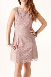 Nikibiki Tile-Lace Embroidered Dress - Product Mini Image