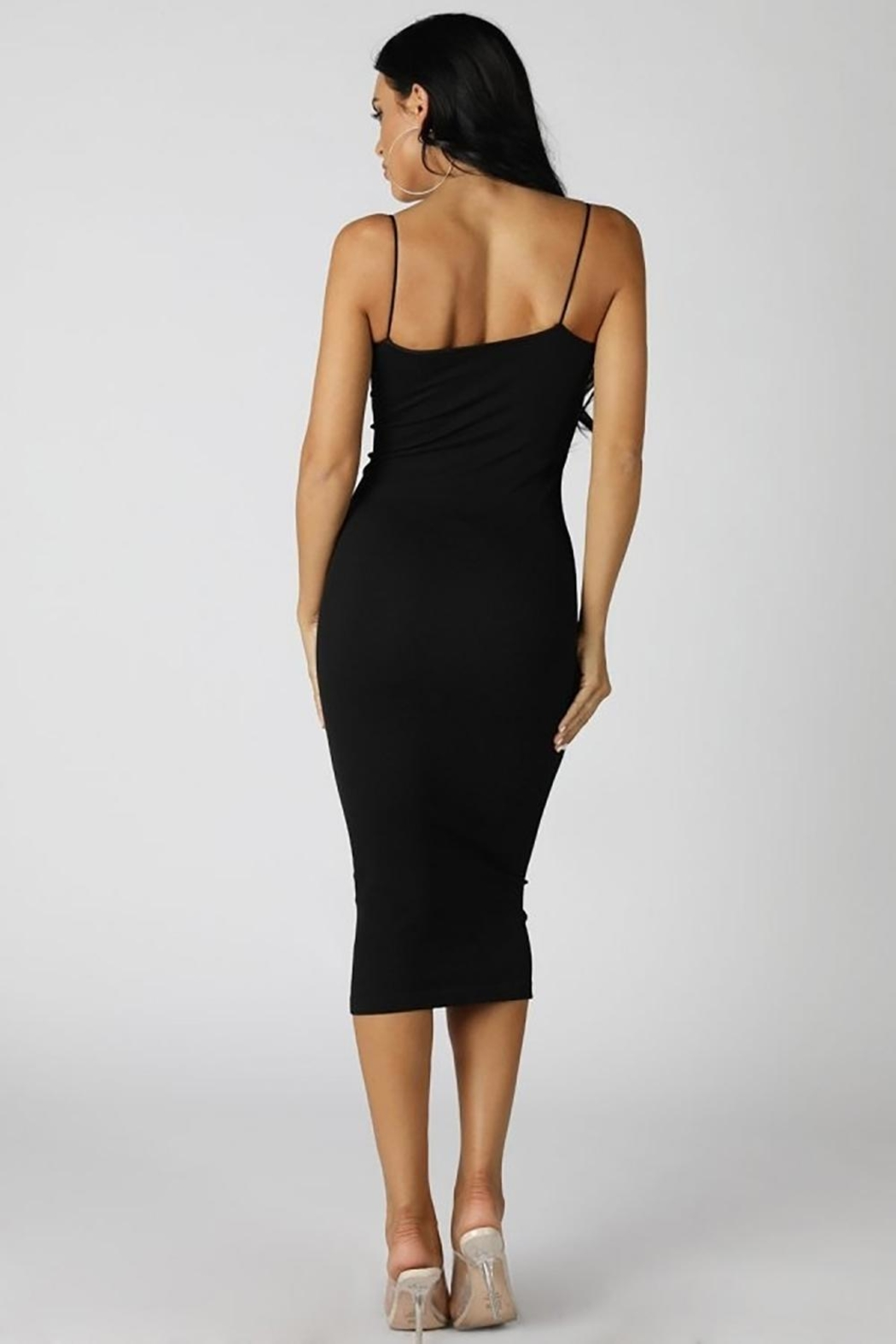 Nikibiki Tube Midi Bodycon - Side Cropped Image