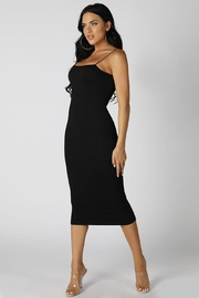 Nikibiki Tube Midi Bodycon - Front cropped
