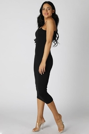 Nikibiki Tube Midi Bodycon - Front full body