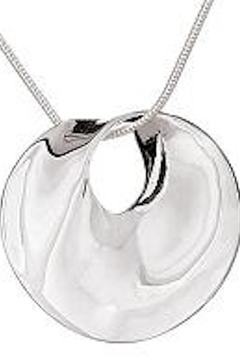Tiger Mountain Twisted Circle Necklace - Alternate List Image