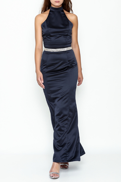 Nikibiki Two Piece Satin Dress - Product List Image
