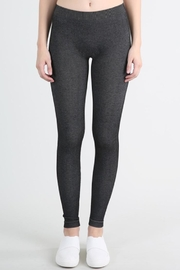 Nikibiki Two Tone Leggings Black - Product Mini Image