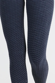 Nikibiki Wave Texture Leggings - Front full body