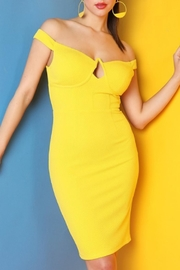 Nikibiki Yellow Looped Dress - Product Mini Image