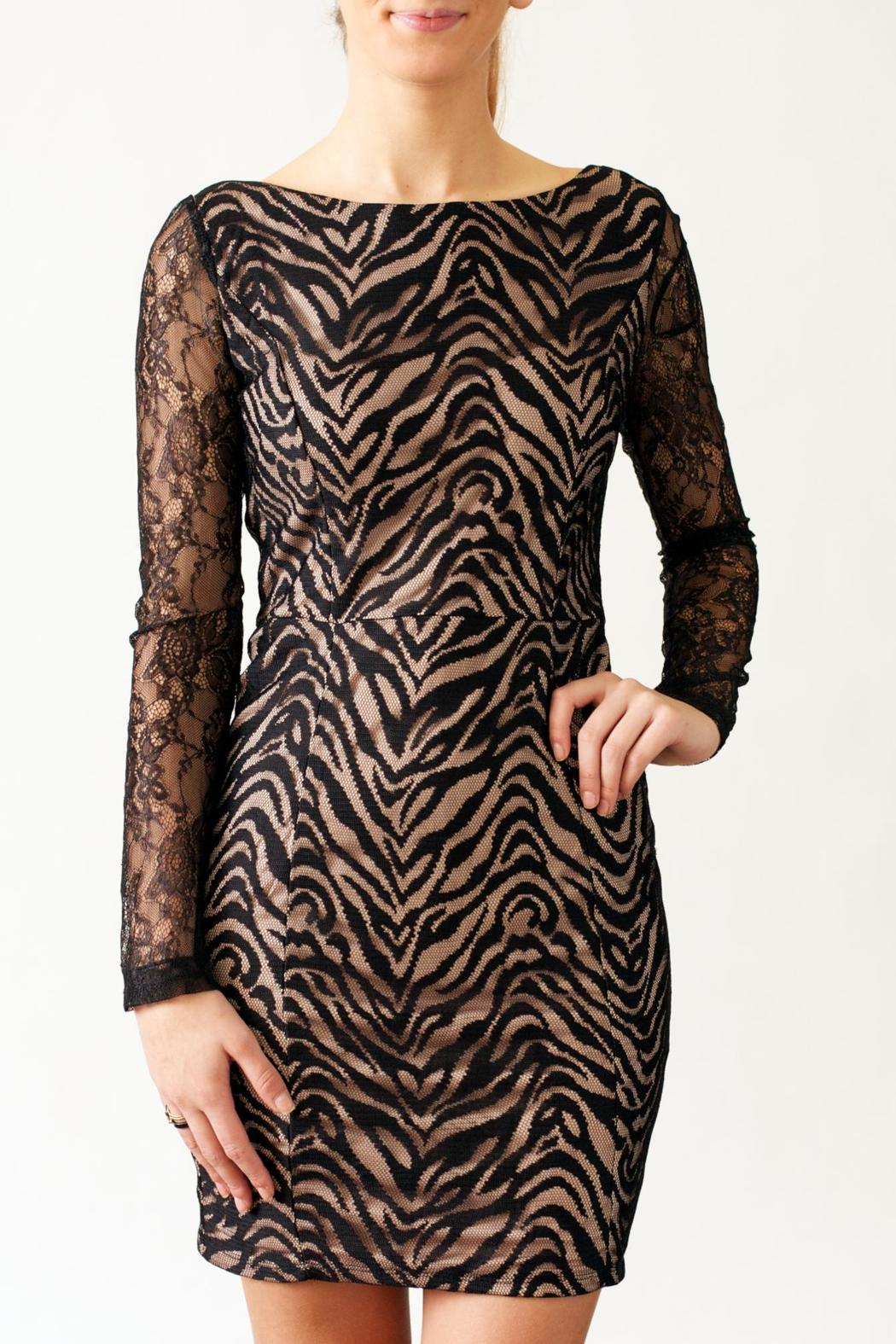 Nikibiki Zebra Lace Dress - Main Image