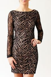 Nikibiki Zebra Lace Dress - Front full body