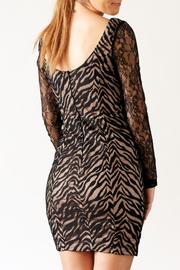 Nikibiki Zebra Lace Dress - Side cropped