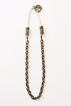 Shoptiques Product: Bronze Chain Necklace