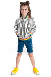 Appaman Nikki Bomber Jacket - Front full body