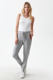 Michael Stars Nikki Slim Jogger with Double Contrast Binding - Product Mini Image