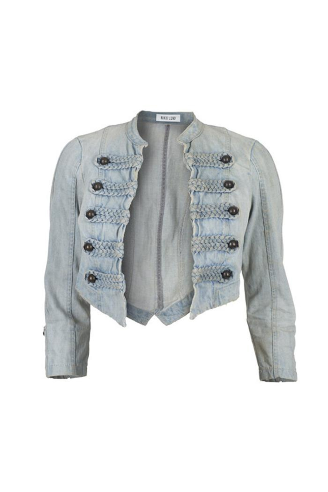 NIKKI LUND System Denim Jacket - Main Image