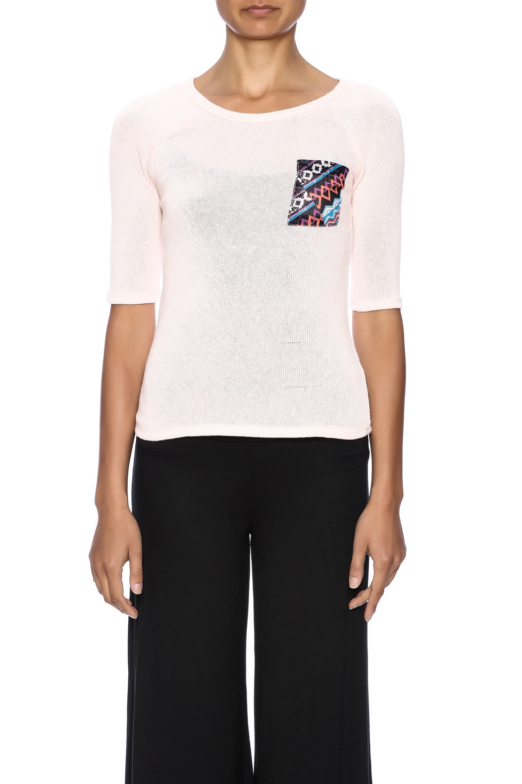 Nikkilund Tribal  Pocket Top - Side Cropped Image