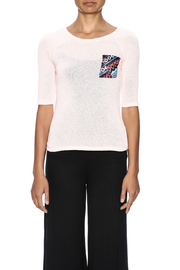 Nikkilund Tribal  Pocket Top - Side cropped