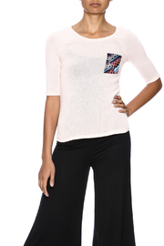 Nikkilund Tribal  Pocket Top - Front cropped