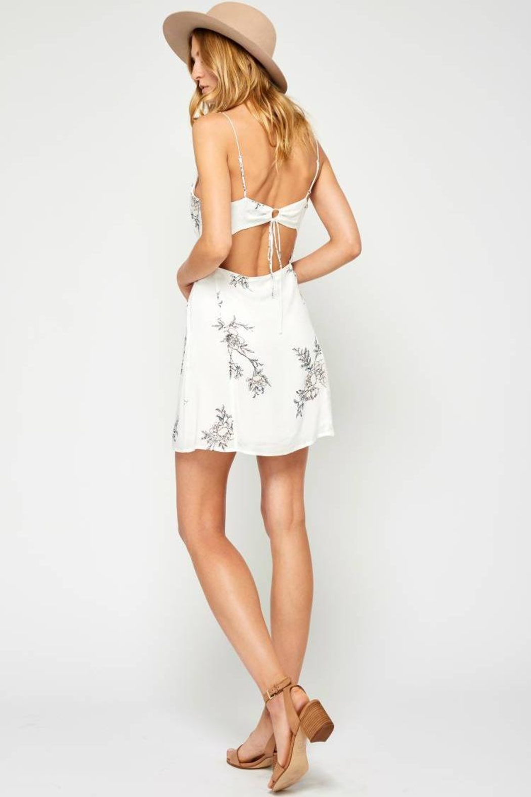 Gentle Fawn Nikola Dress - Back Cropped Image