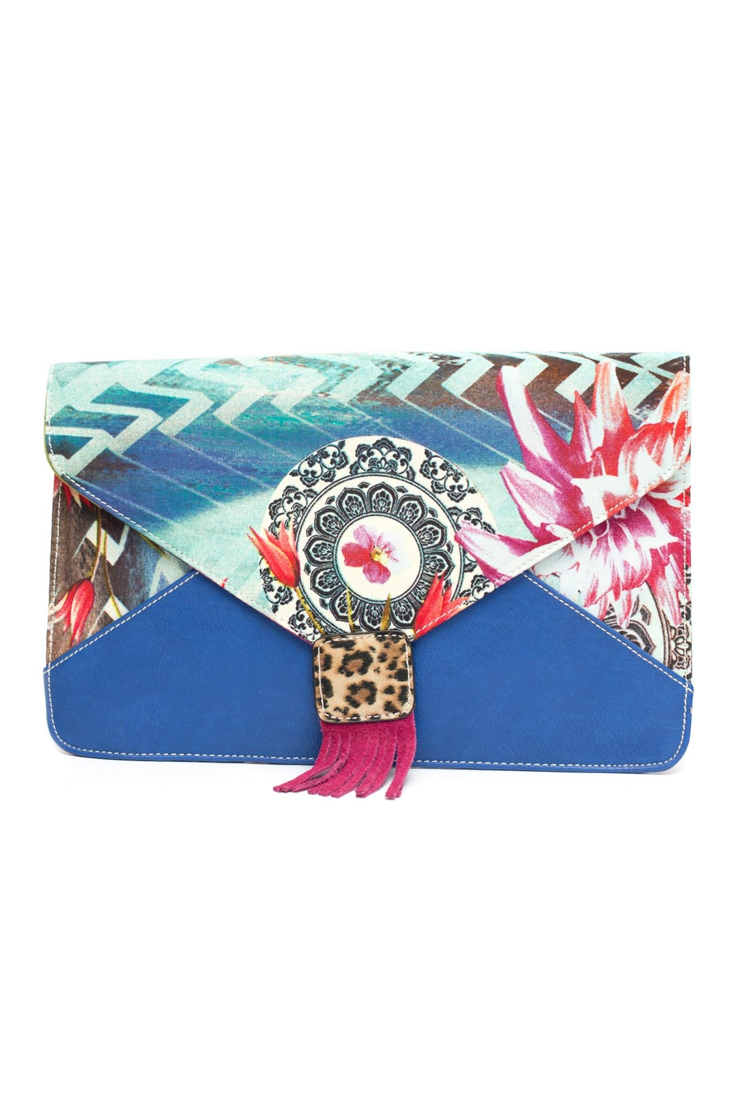 Nila Anthony Peacock Clutch - Main Image