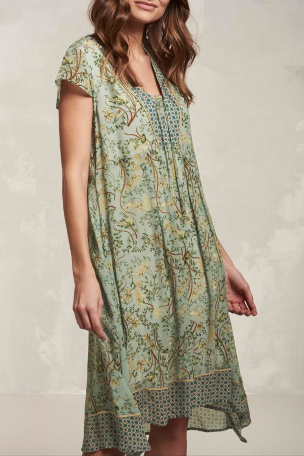 Nile Floral Boho Dress - Main Image