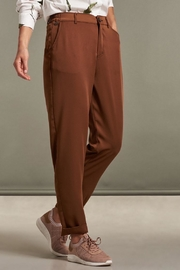 Nile Hazel Ankle Chinos - Front full body