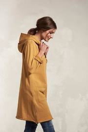 Nile Mustard A-Line Jacket - Front cropped