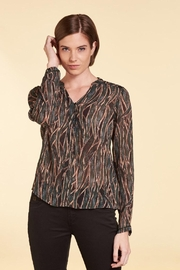 Nile Sheer Print Blouse - Front cropped