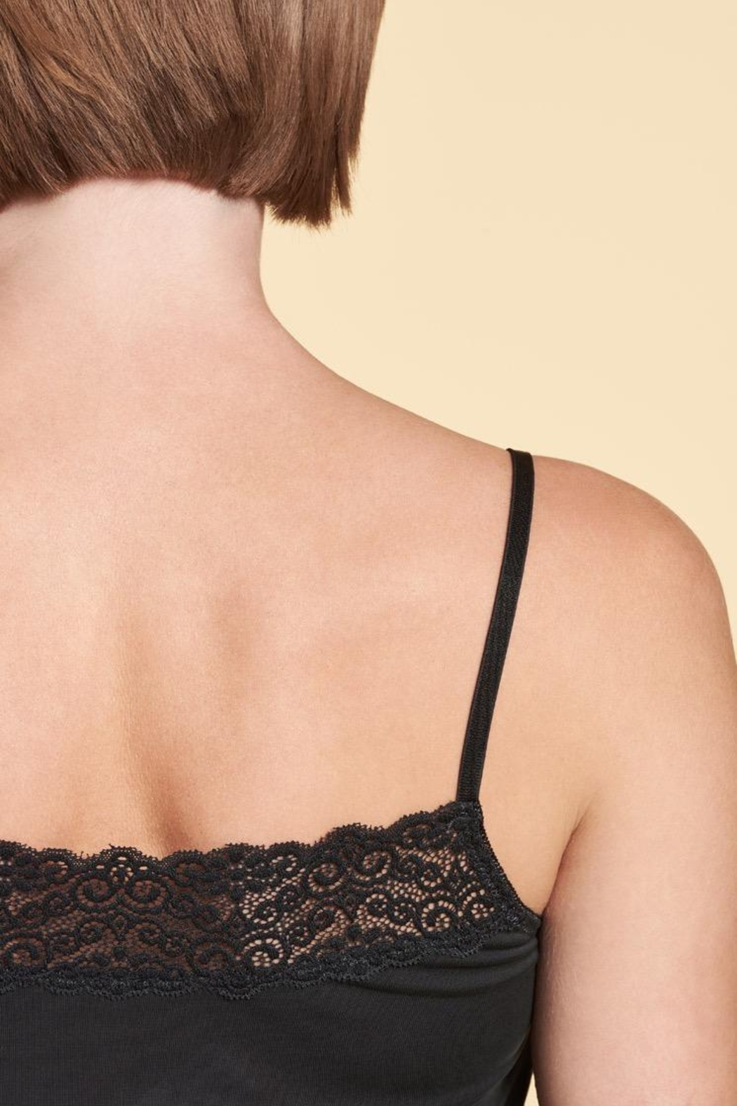 Nile Soft Lace Cami - Front Full Image