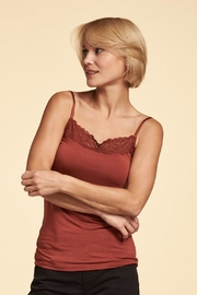 Nile Soft Lace Cami - Front cropped