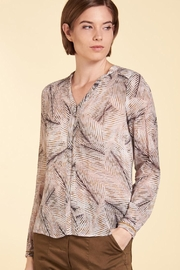 Nile Soft Print Blouse - Front cropped