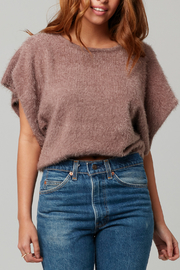 Knot Sisters Nina Eyelash Knit Sweater - Product Mini Image