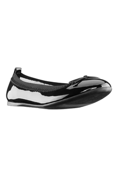 Nina Kids Esther Ballet Flat in Black Patent - Product List Image