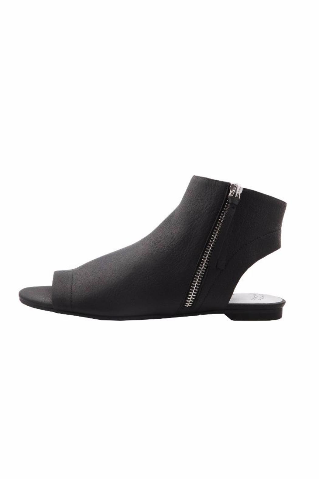 Nina Peep-Toe Standard Bootie - Front Cropped Image