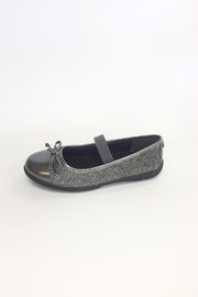 Nina Pewter Flat Shoes - Front cropped
