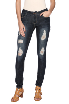 Shoptiques Product: Dark Stone Distressed Jean